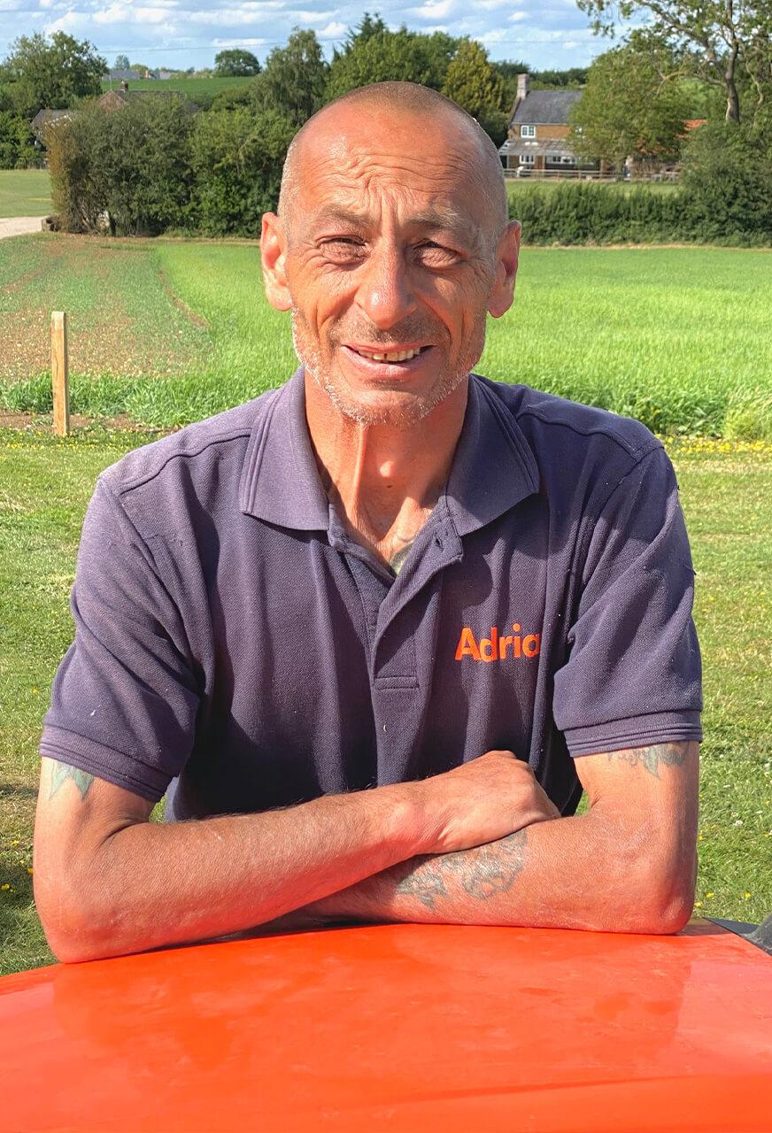 Adrian Phillips of Thomas Fox Landscaping