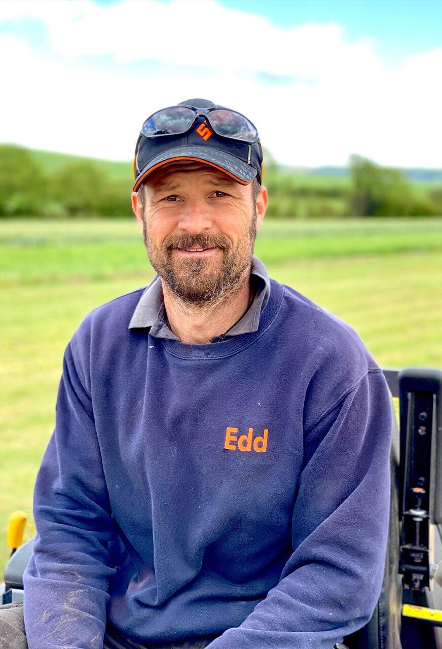 Ed Fox of Thomas Fox Landscaping