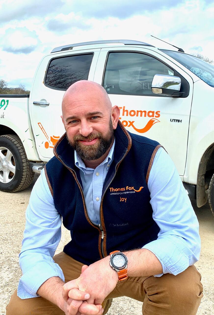 Jay Morris of Thomas Fox Landscaping
